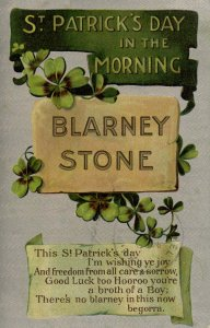 Greeting - St Patrick's Day        (silver)