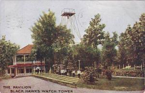 The Pavilion, Black Hawk's Watch Tower, Illinois, PU-00-10s