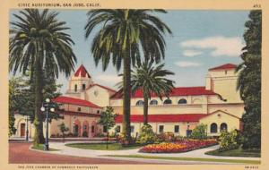 California San Jose Civic Auditorium