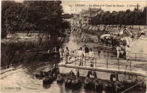 CPA Sedan La Meuse et le Canal du Moulin (646669)