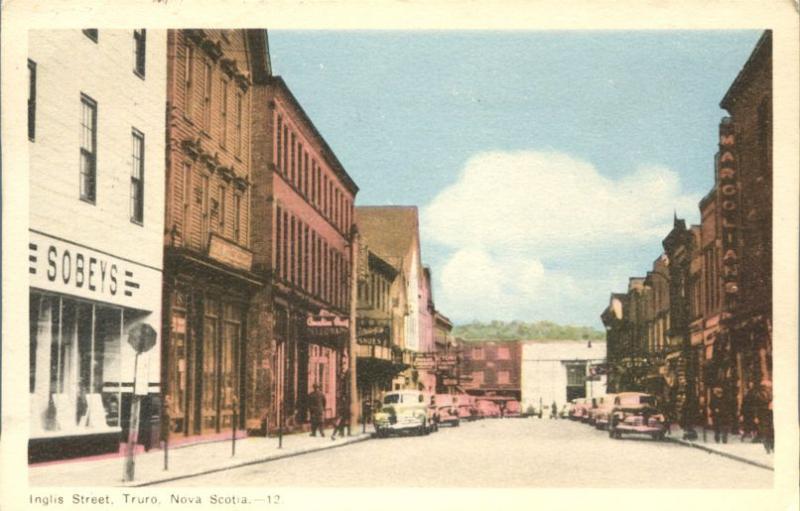 Sobeys on Inglis Street - Truro NS, Nova Scotia, Canada - pm 1951