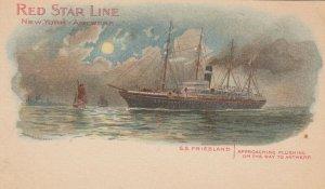 RED STAR Line Ocean Liner S.S. FRIESLAND , PMC 1898