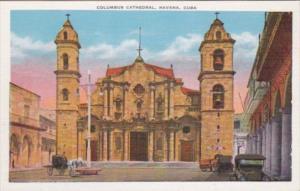 Cuba Havana Columbus Cathedral