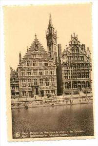 Maisons Des Mesureurs De Grains Et Des Bateliers, Gand (East Flanders), Belgi...