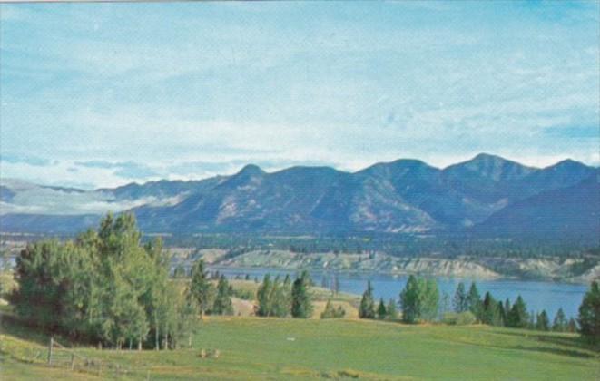 Canada Panorama View Lake Windermere British Columbia