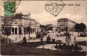 CPA AK Torino Stazione di Porta Susa . ITALY (542898)