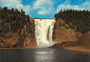 Canada Quebec Que La Chute Montmorency Falls