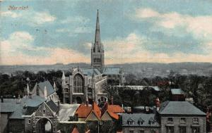 Norwich Cathedral Partial view Gate Postcard