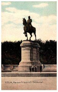 Germany  Coln   Kaiser Friedrich Denkmal