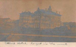 Antler's Hotel, Colorado Springs, Colorado, Early Real Photo Postcard, Used