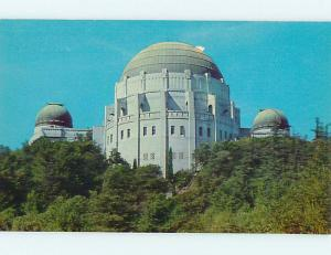 Pre1980 DOMES OF SOLAR TELESCOPE AT GRIFFITH OBSERVATORY Los Angeles CA r9713
