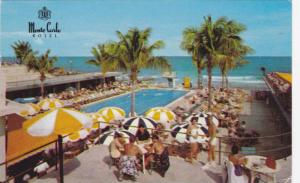 The Monte Carlo Resort Hotel, Swimming Pool, Miami Beach, Florida, PU-1961
