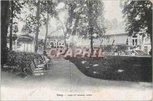 Postcard Old Vichy Park and Source Lardy