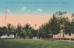 ZAMBOANGA, Mindanao, Philippines;  00-10s; Parade Grounds, Pettit Barracks