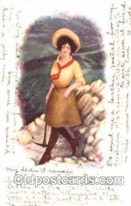 Western, Cowboy, Cowgirl, Postcard Postcards