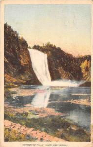 11538  Quebec  1940's  Montmorency Falls