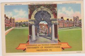 Quadrangle & Triangle Dormitories, University of Pennslyvania, Philadelphia P...