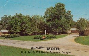 EATONTON, Georgia, 1950-1960's; Eatonton Motel