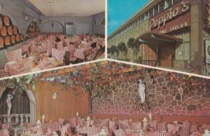 Peppio's Restaurant Dupont Street Peppios Diner Toronto Ontario Canada Postcard