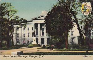 Exterior, State Capitol Building, Raleigh, Nort Carolina,  PU-00-10s