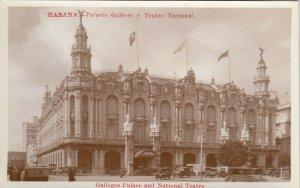 RP: HAVANA , Cuba , 00-10s ; Palacio Gallego y Teatro Nacional