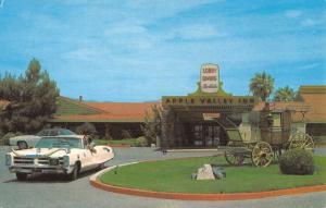 Apple Valley California Inn Street View Vintage Postcard K52263