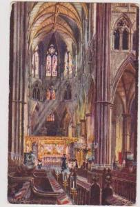 TUCK: Interior View of the Choir, Westminster Abbey, London England 1900-10s