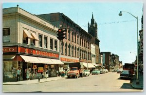 Cohoes New York~Remsen Street~SS Kresge Store~Toy Sale~1950s Cars~Truck