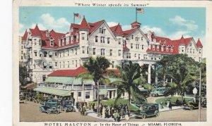 Florida Miami Hotel Kalcyon 1934 Curteich sk3998