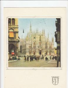 LLOYD TRIESTINO Liner Victoria Menu , 1956 ; Milano , Italy