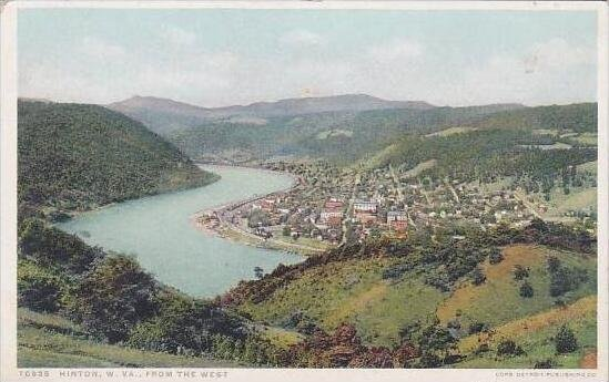 West Virginia Hinton From The West