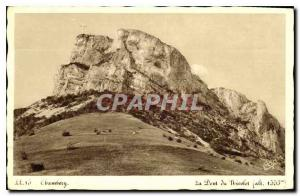 Old Postcard Chambery Tooth Nicolet