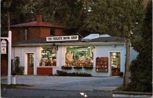 Postcard PA Pennsylvania Philadelphia Frigate Book Shop Chestnut Hill 1972