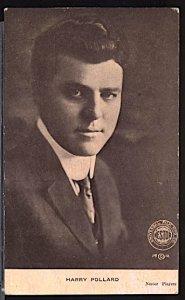 USA Silent Movie Stars Harry Pollard Universal Films 1912