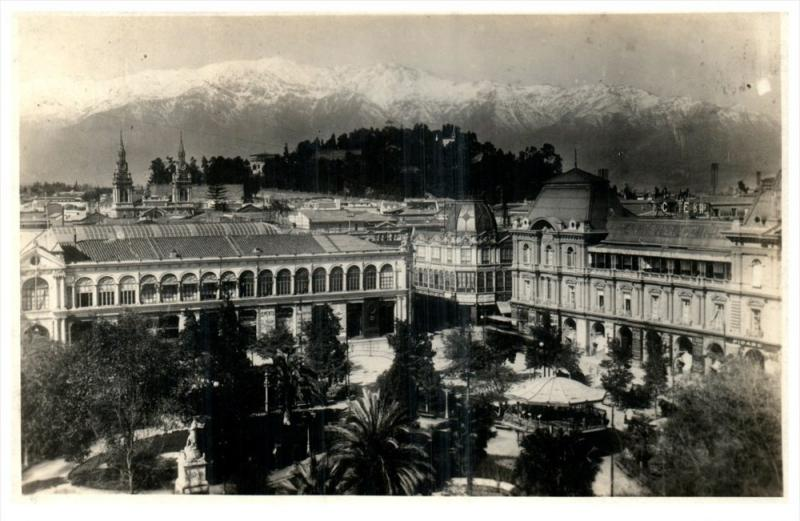 21825 Chile 1927 Buildings  and Mountains RPC
