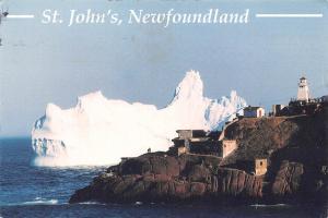 Canada St. John's Newfoundland Iceberg near Fort Amherst