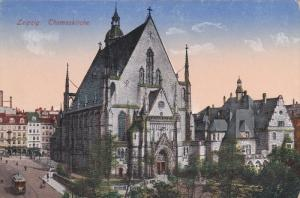 LEIPZIG, Germany, 1900-1910´s; Thomaskirche