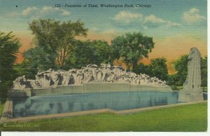 Washington Park, Chicago, Fountain Of Time