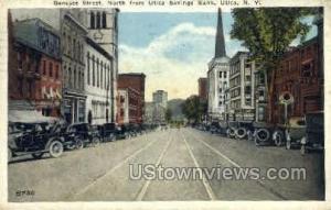 Savings Bank Utica NY 1922