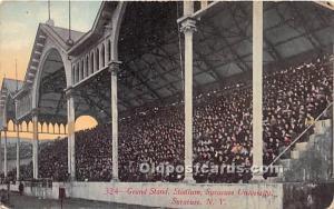 Grand Stand, Stadium, Syracuse University Syracuse, New York, NY, USA Unused
