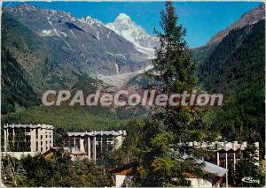 Modern Postcard Argentiere alt 1235 m Chamonix Grand Roc at the bottom of the...