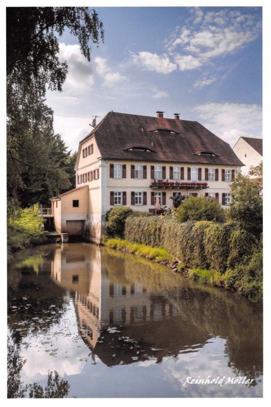 Postcard Abtsdorfer Mill, Muhle, Frensdorf, Germany 76D