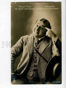 260687 Guido THIELSCHER German humorist SINGER Vintage PHOTO