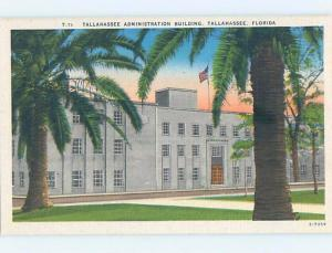 Unused Linen BUILDING Tallahassee Florida FL hn9106-12