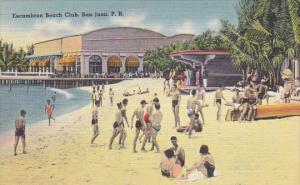 Puerto Rico San Juan Escambron Beach Club