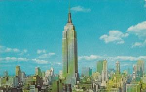 New York City Empire State Building 1968