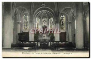 Old Postcard Ladies Seminary of St Charles La Chapelle Peruwelz