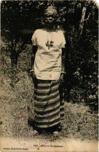 CPA AK FEZ Femme Senegalaise MAROC (824660)