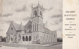 NORRISTOWN , Pennsylvania, 00-10s ; Calvary Baptist Church