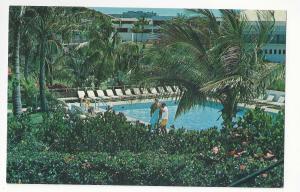 Puerto Rico El Conquistador Hotel Las Croabas Upper Swimming Pool Vtg Postcard
